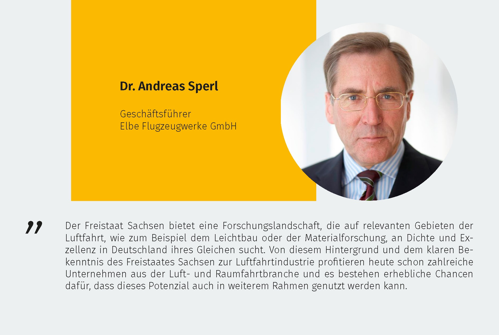 Dr. Andreas Sperl