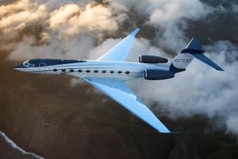 The Gulfstream G700 with its Pearl 700 engines offers a combination of size, range and speed that makes this aircraft unique in the world.