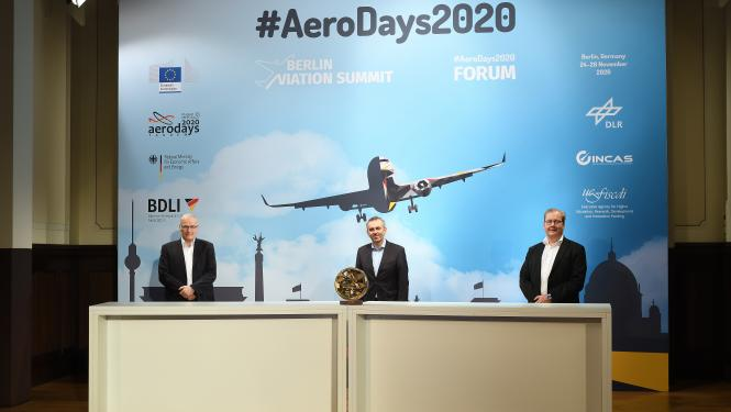 Berlin Aviation Summit and EU #AeroDays2020 FORUM attract over 1,000 participants